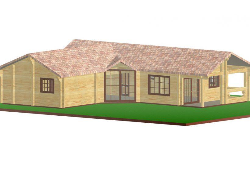 Konvesta – Rąstinių namų gamyba, statyba ir įrengimas gamina gyvenamuosius rąstinius namus, pirtis, poilsio ir sodo namelius, pavėsines.  |  Blaavandshuk 116Kv.m