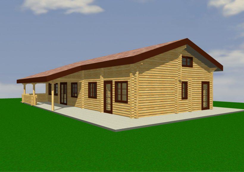 Konvesta – Rąstinių namų gamyba, statyba ir įrengimas gamina gyvenamuosius rąstinius namus, pirtis, poilsio ir sodo namelius, pavėsines.  |  Aserbo