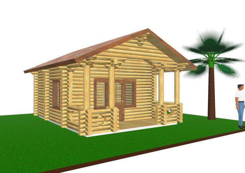 Konvesta – Rąstinių namų gamyba, statyba ir įrengimas gamina gyvenamuosius rąstinius namus, pirtis, poilsio ir sodo namelius, pavėsines.  |  Pirtis 4 29Kv.m