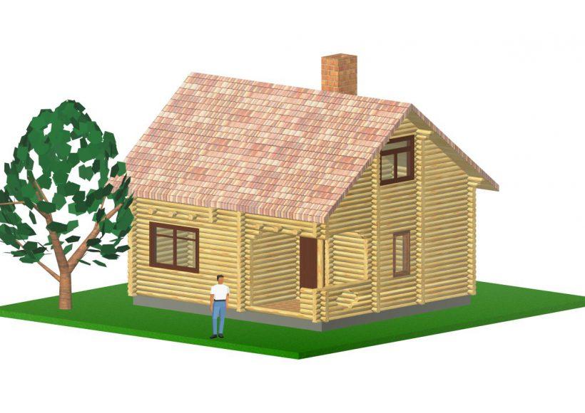 Konvesta – Rąstinių namų gamyba, statyba ir įrengimas gamina gyvenamuosius rąstinius namus, pirtis, poilsio ir sodo namelius, pavėsines.  |  Sernai 96Kv.m