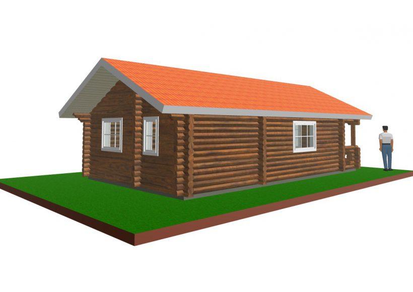 Konvesta – Rąstinių namų gamyba, statyba ir įrengimas gamina gyvenamuosius rąstinius namus, pirtis, poilsio ir sodo namelius, pavėsines.     Bungalow