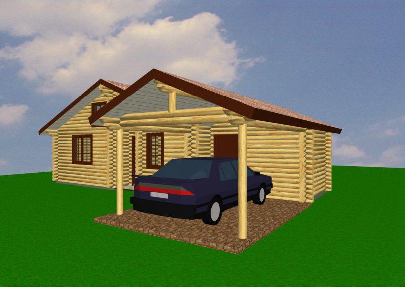 Konvesta – Rąstinių namų gamyba, statyba ir įrengimas gamina gyvenamuosius rąstinius namus, pirtis, poilsio ir sodo namelius, pavėsines.  |  Oro 90Kv.m