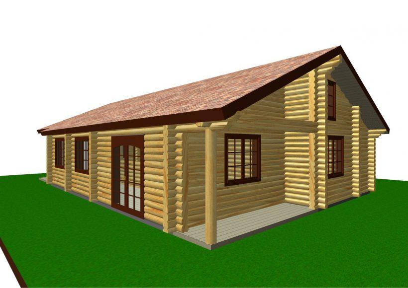 Konvesta – Rąstinių namų gamyba, statyba ir įrengimas gamina gyvenamuosius rąstinius namus, pirtis, poilsio ir sodo namelius, pavėsines.  |  Parcel 94 111Kv.m
