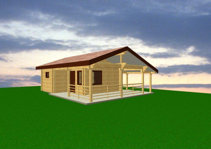 Konvesta – Rąstinių namų gamyba, statyba ir įrengimas gamina gyvenamuosius rąstinius namus, pirtis, poilsio ir sodo namelius, pavėsines.  |  Pirtis 2 31Kv.m