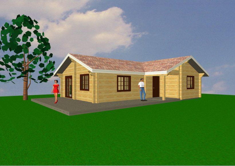 Konvesta – Rąstinių namų gamyba, statyba ir įrengimas gamina gyvenamuosius rąstinius namus, pirtis, poilsio ir sodo namelius, pavėsines.  |  Pumburas 85Kv.m
