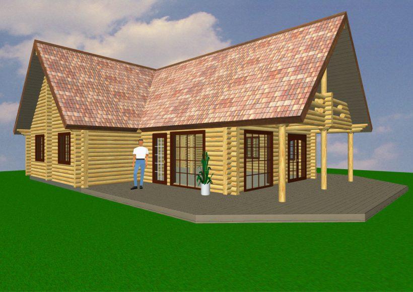 Konvesta – Rąstinių namų gamyba, statyba ir įrengimas gamina gyvenamuosius rąstinius namus, pirtis, poilsio ir sodo namelius, pavėsines.  |  Ringkobing 119Kv.m