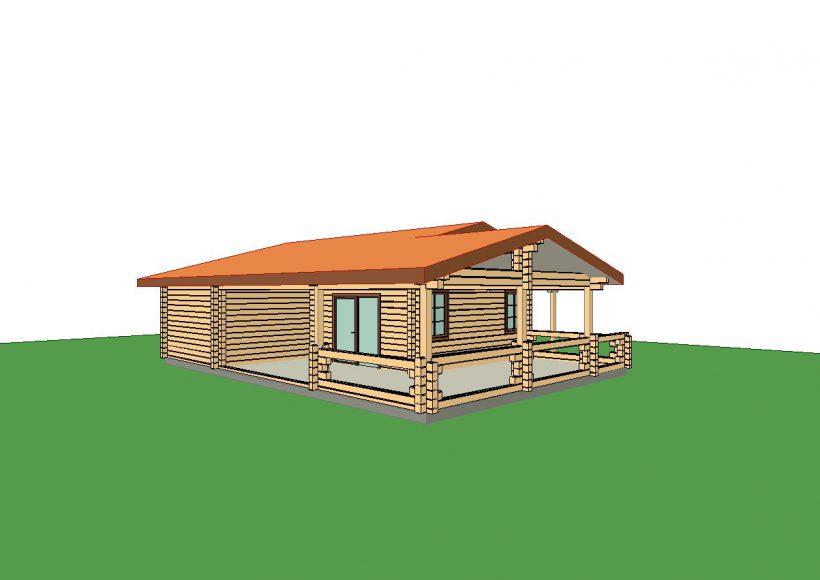 Konvesta – Rąstinių namų gamyba, statyba ir įrengimas gamina gyvenamuosius rąstinius namus, pirtis, poilsio ir sodo namelius, pavėsines.  |  Rolandas 51Kv.m