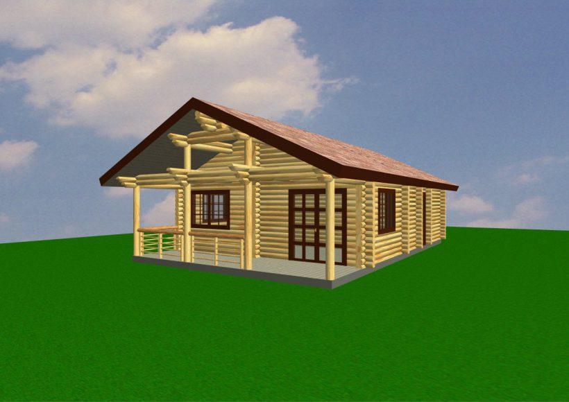 Konvesta – Rąstinių namų gamyba, statyba ir įrengimas gamina gyvenamuosius rąstinius namus, pirtis, poilsio ir sodo namelius, pavėsines.  |  Sventoji 66Kv.m