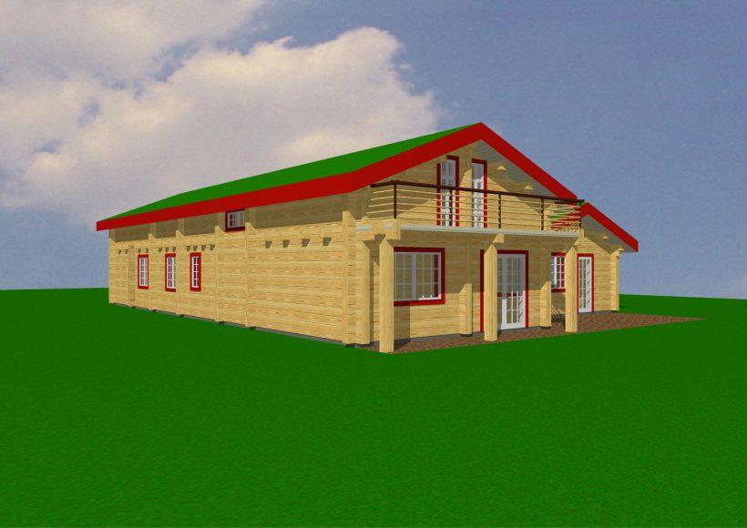 Konvesta – Rąstinių namų gamyba, statyba ir įrengimas gamina gyvenamuosius rąstinius namus, pirtis, poilsio ir sodo namelius, pavėsines.  |  Trysyl