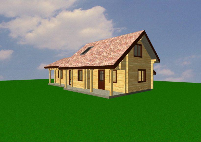 Konvesta – Rąstinių namų gamyba, statyba ir įrengimas gamina gyvenamuosius rąstinius namus, pirtis, poilsio ir sodo namelius, pavėsines.  |  Gintas 2 163Kv.m