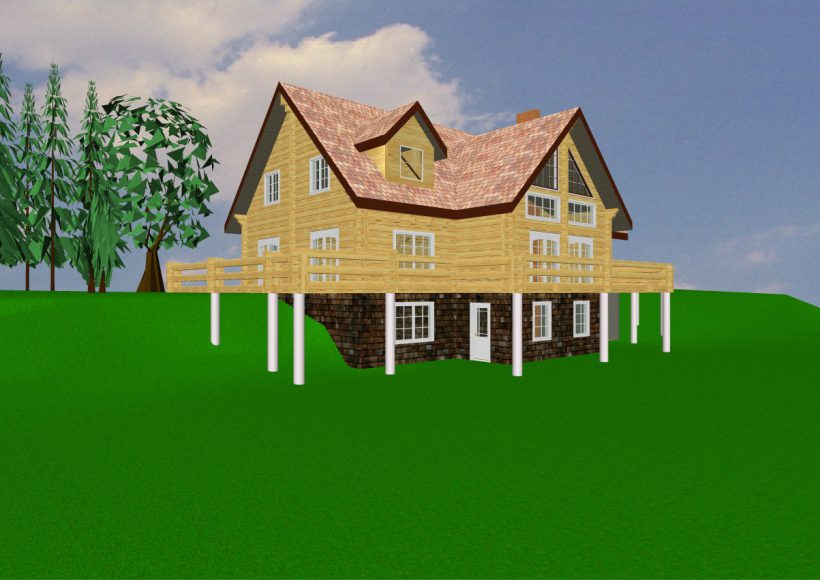 Konvesta – Rąstinių namų gamyba, statyba ir įrengimas gamina gyvenamuosius rąstinius namus, pirtis, poilsio ir sodo namelius, pavėsines.  |  Linno 229Kv.m (be rūsio)