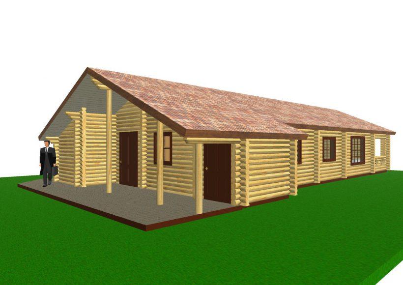 Konvesta – Rąstinių namų gamyba, statyba ir įrengimas gamina gyvenamuosius rąstinius namus, pirtis, poilsio ir sodo namelius, pavėsines.  |  Danij