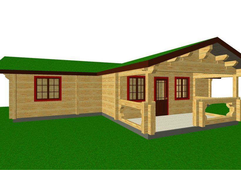 Konvesta – Rąstinių namų gamyba, statyba ir įrengimas gamina gyvenamuosius rąstinius namus, pirtis, poilsio ir sodo namelius, pavėsines.  |  Sigurd 2