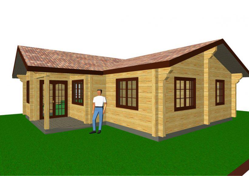 Konvesta – Rąstinių namų gamyba, statyba ir įrengimas gamina gyvenamuosius rąstinius namus, pirtis, poilsio ir sodo namelius, pavėsines.  |  Forglemmegei 90Kv.m