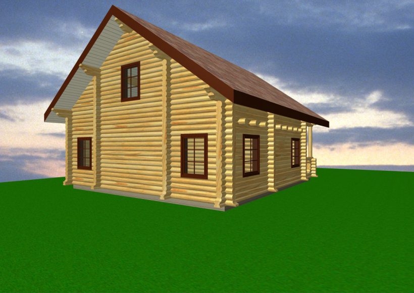 Konvesta – Rąstinių namų gamyba, statyba ir įrengimas gamina gyvenamuosius rąstinius namus, pirtis, poilsio ir sodo namelius, pavėsines.  |  F4 165Kv.m