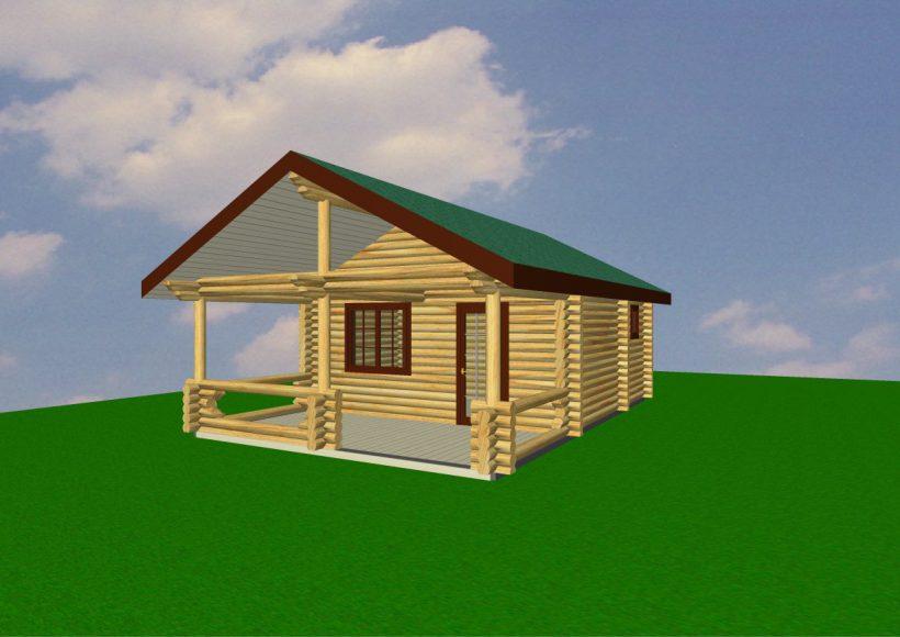 Konvesta – Rąstinių namų gamyba, statyba ir įrengimas gamina gyvenamuosius rąstinius namus, pirtis, poilsio ir sodo namelius, pavėsines.  |  Pirtis 1 44Kv.m