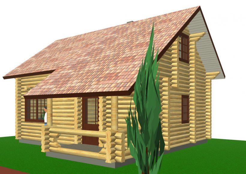 Konvesta – Rąstinių namų gamyba, statyba ir įrengimas gamina gyvenamuosius rąstinius namus, pirtis, poilsio ir sodo namelius, pavėsines.  |  Eigulio