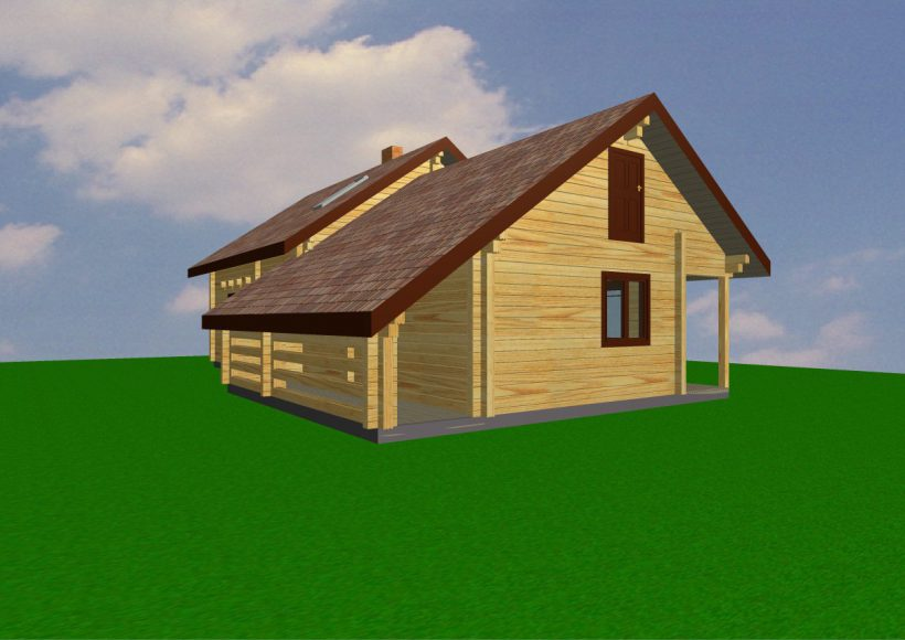Konvesta – Rąstinių namų gamyba, statyba ir įrengimas gamina gyvenamuosius rąstinius namus, pirtis, poilsio ir sodo namelius, pavėsines.  |  Gintas 1