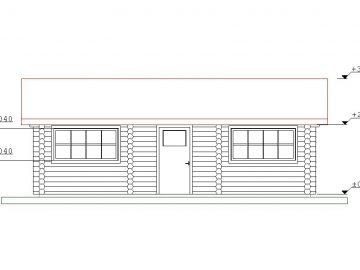 Projektas Garazas 1 33Kv.m