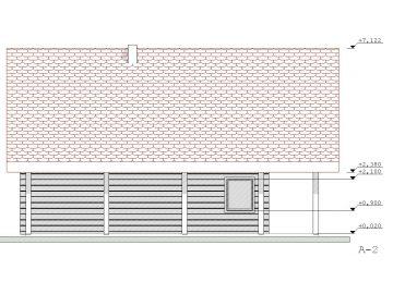 Projektas Pirtis Latvija 2 123Kv.m