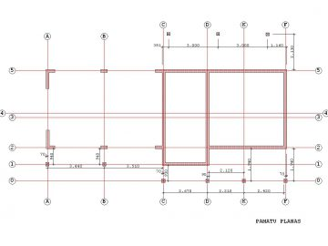 Projektas Gintas 2 163Kv.m